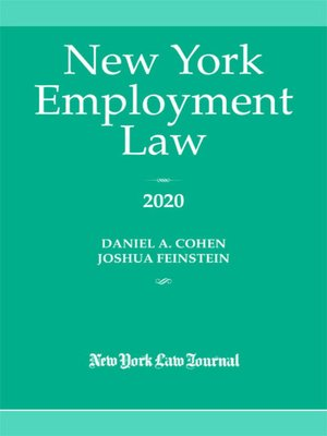cover image of New York Employment Law