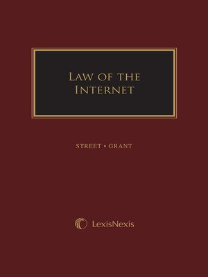 cover image of Law of The Internet