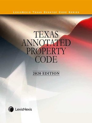 cover image of Texas Annotated Property Code