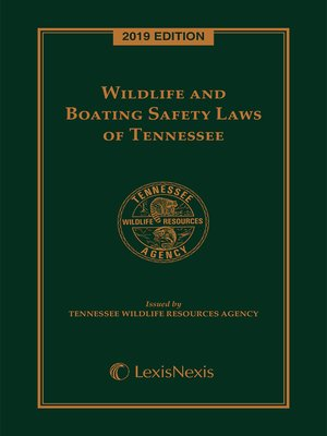 cover image of Wildlife and Boating Safety Laws of Tennessee