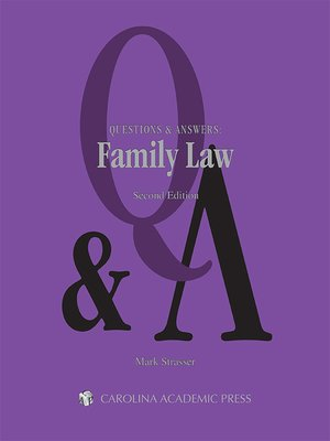 cover image of Questions & Answers: Family Law