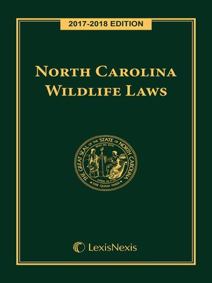 cover image of North Carolina Wildlife Laws