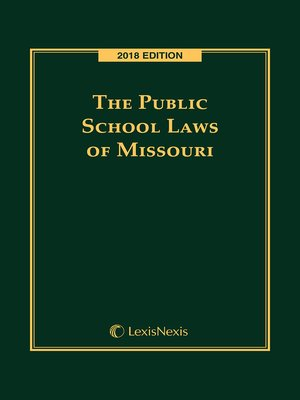 cover image of The Public School Laws of Missouri