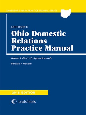 cover image of Anderson's Ohio Domestic Relations Practice Manual
