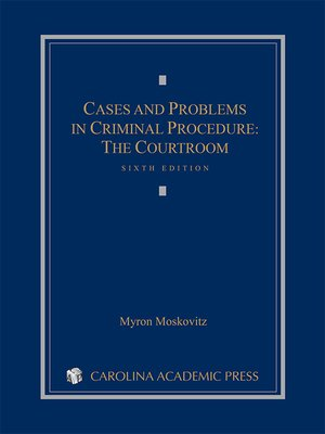 cover image of Cases and Problems in Criminal Procedure