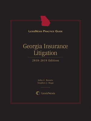 cover image of LexisNexis Practice Guide: Georgia Insurance Litigation