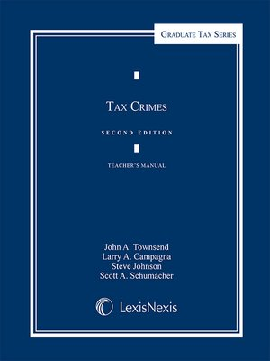 cover image of Tax Crimes