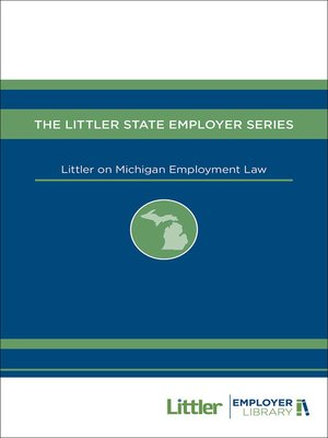 cover image of Littler on Michigan Employment Law