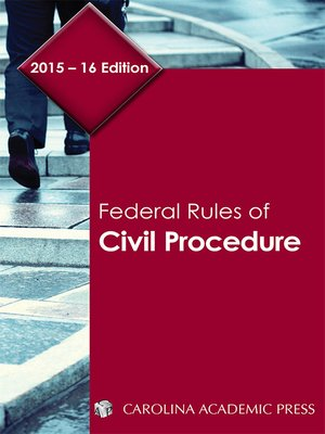 cover image of Federal Rules of Civil Procedure