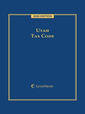 cover image of Utah Tax Code