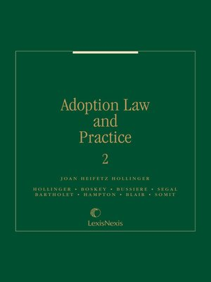 cover image of Adoption Law and Practice