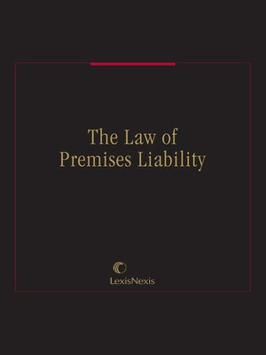 cover image of The Law of Premises Liability