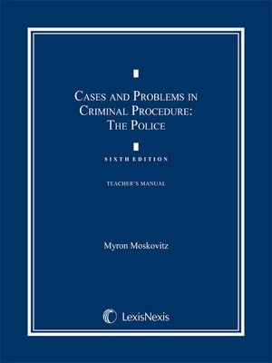 cover image of Cases & Problems in Criminal Procedure