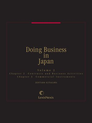 cover image of Doing Business in Japan