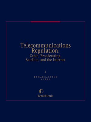 cover image of Telecommunications Regulation