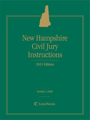 model criminal jury instructions