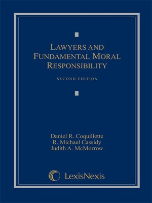 cover image of Lawyers and Fundamental Moral Responsibility