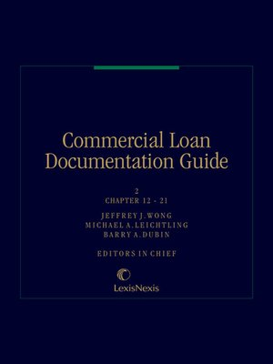 cover image of Commercial Loan Documentation Guide