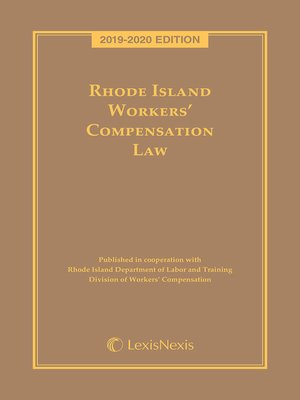 cover image of Rhode Island Workers' Compensation Law