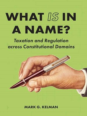 cover image of What IS in a Name?