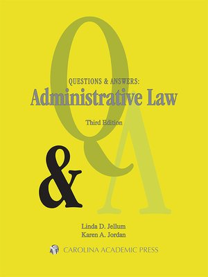 Cover of Questions & Answers: Administrative Law