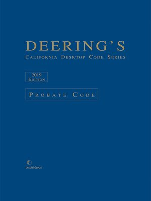 cover image of Deering's California Desktop Code Series
