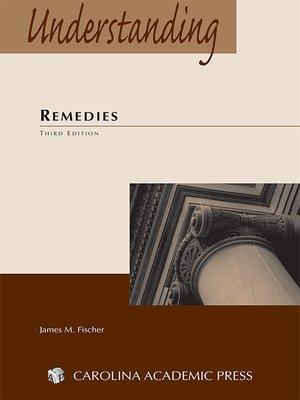 cover image of Understanding Remedies