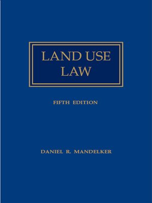 cover image of Land Use Law 2003