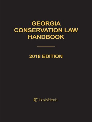 cover image of Georgia Conservation Law Handbook