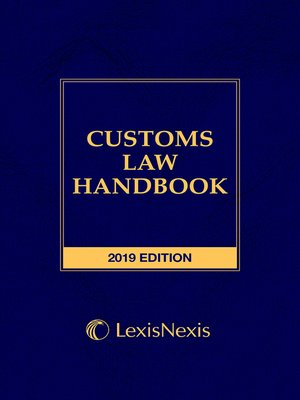 cover image of Customs Law Handbook