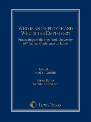 cover image of Who is an Employee and Who is the Employer?