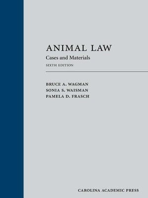 cover image of Animal Law
