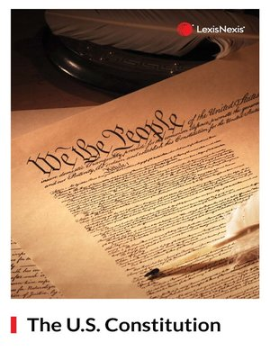 cover image of Constitution of the United States of America