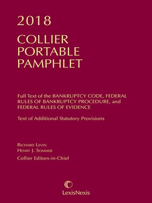 cover image of Collier Pamphlet Edition