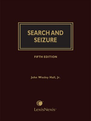 cover image of Search and Seizure