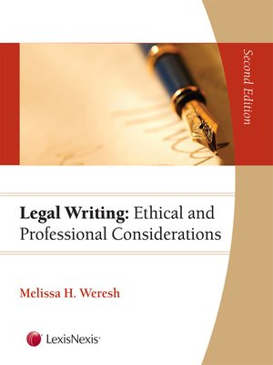cover image of Legal Writing