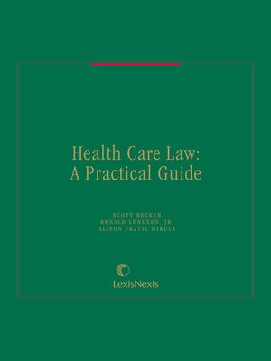 cover image of Health Care Law