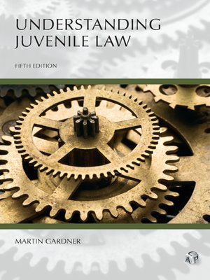 cover image of Understanding Juvenile Law