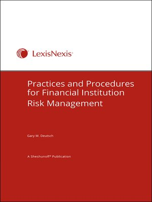 cover image of Practices and Procedures for Financial Institution Risk Management