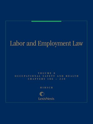 cover image of Labor and Employment Law