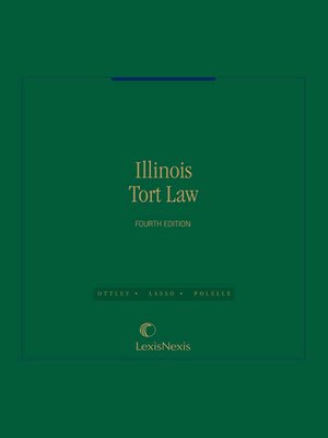 cover image of Illinois Tort Law