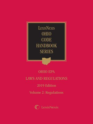 cover image of Ohio EPA Laws and Regulations