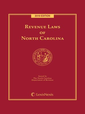 cover image of Revenue Laws of North Carolina
