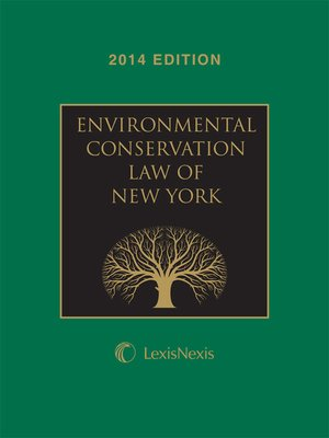 cover image of New York Environmental Conservation Law