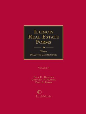 cover image of Illinois Real Estate Forms