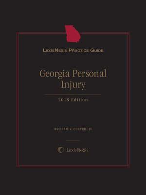 cover image of LexisNexis Practice Guide: Georgia Personal Injury