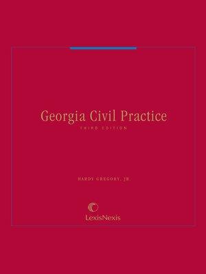 cover image of Georgia Civil Practice