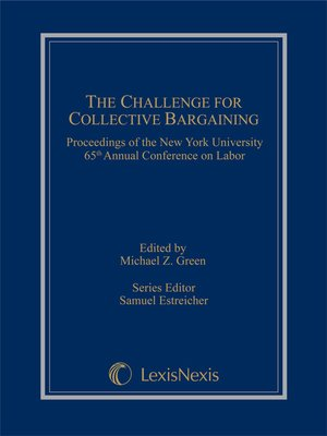 cover image of The Challenge for Collective Bargaining