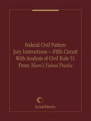 5th circuit pattern jury instructions