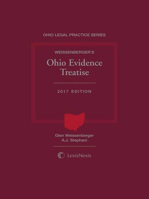 cover image of Weissenberger's Ohio Evidence Treatise